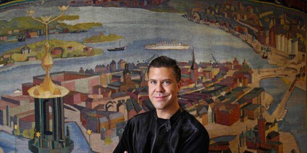 Stjärnmäklaren Fredrik Eklund tycker landsbygden är sexig