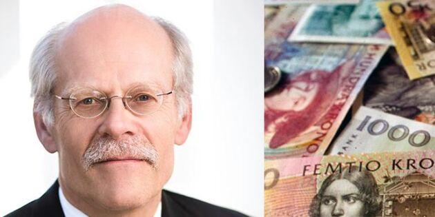 Riksbanken: Tvinga bankerna att ha kontanter