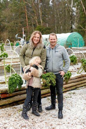 Dottern Maylas tillkomst fick Christina och Christer att välja ett enklare, mer naturnära liv.