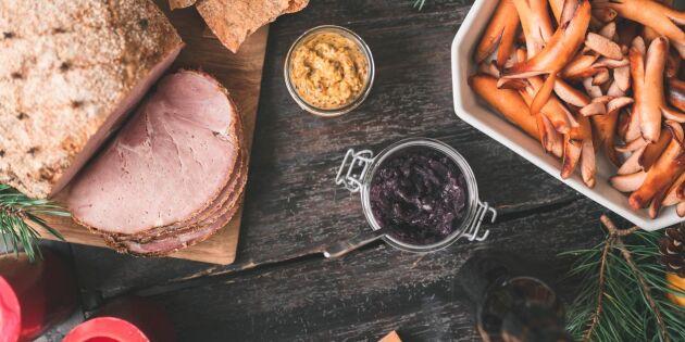 Svensk mat på julbordet fortfarande viktigast