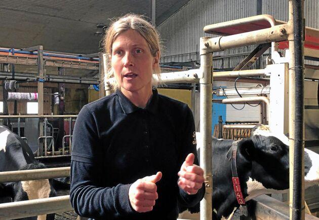 Intrånget i ladugården gör mig heligt förbannad, säger Anette Gustawson, mjölkbonde på Billinge gård.