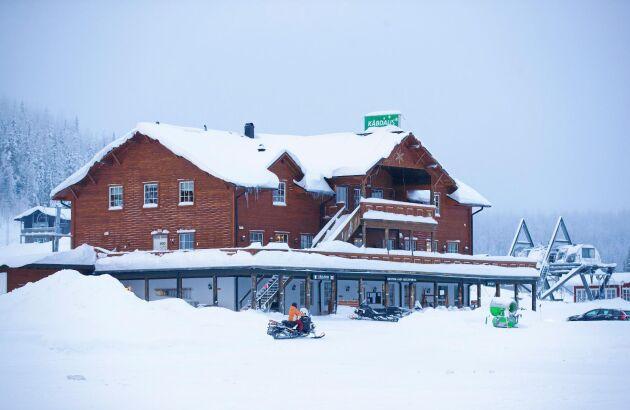 Den familjeägda alpina anläggningen är motor i den lilla inlandsbyns utveckling.