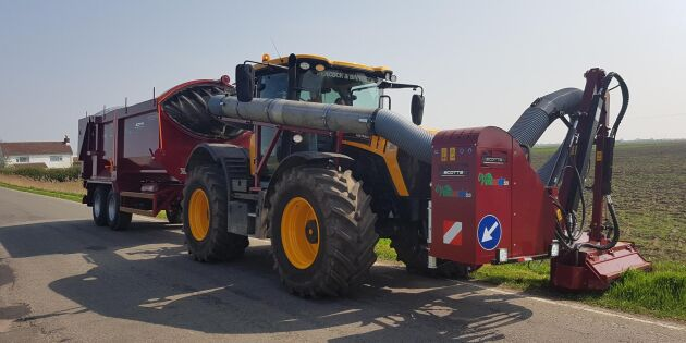 Skånskt vägkantsgräs ska bli biogas