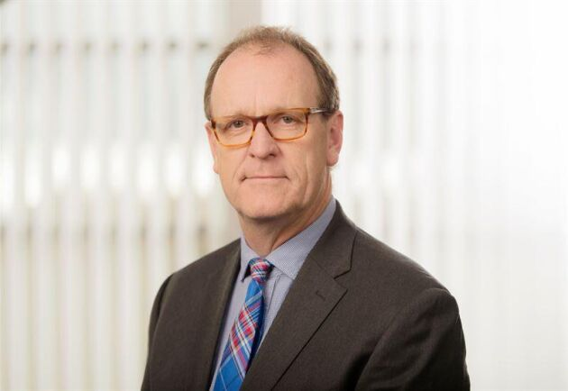 """""""Tack vare möjligheten till korttidspermittering har vi en beredskap för att snabbt kunna öka produktionen igen"""", säger Jörgen Lindquist, affärsområdeschef Södra Wood."""
