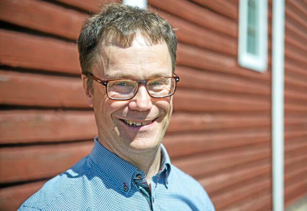 Ulf Nordbeck utvecklar Ekobot.