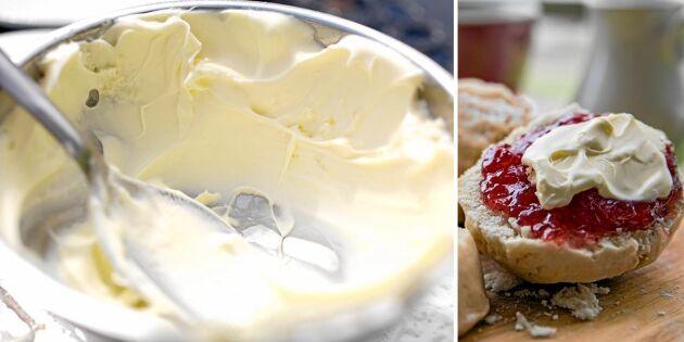 Clotted cream – härlig bredbar grädde till ditt afternoon tea