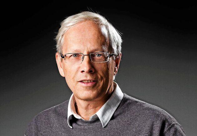 Lars Björklund, chef för VMU (virkesmätning utveckling), inom SDC, Skogsbrukets IT-företag.