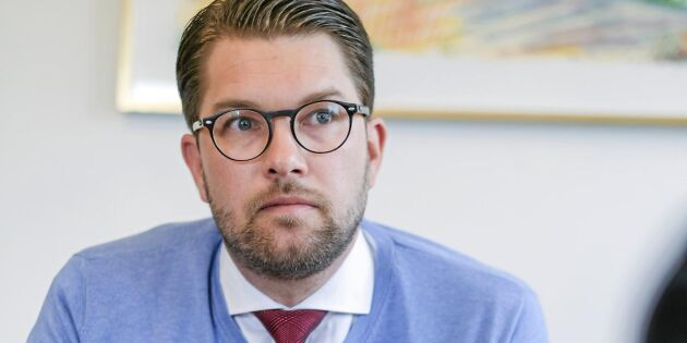 "Jimmie Åkesson: ""Sverige ut ur EU"""