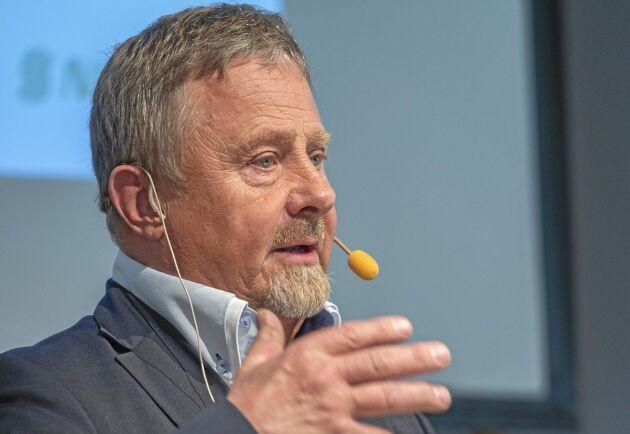 Torgny Hardselius på Norra Skogsägarnas årsstämma i Skellefteå.