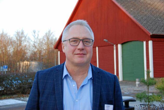 Ove Karlsson, agronom och projektledare på SLU.