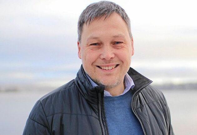 Johan Molin, ny VD för Siljans Chark sedan början av november.