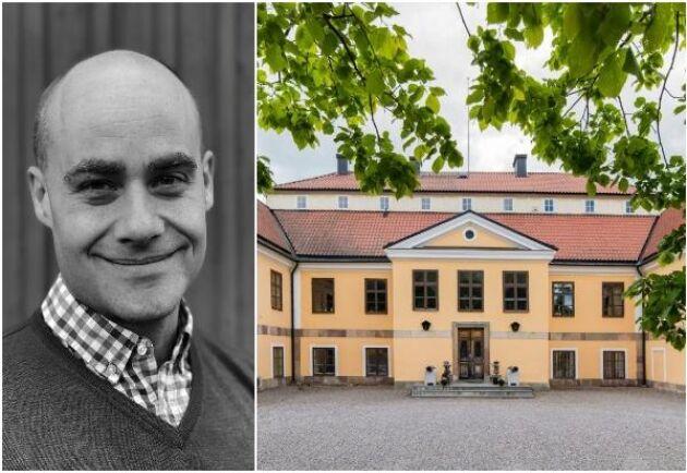Viktor Danielsson, mäklare.
