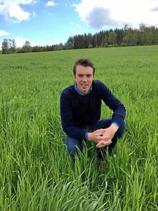 Filip Källner, mjölkbonde.