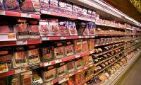 Köttimporten minskar