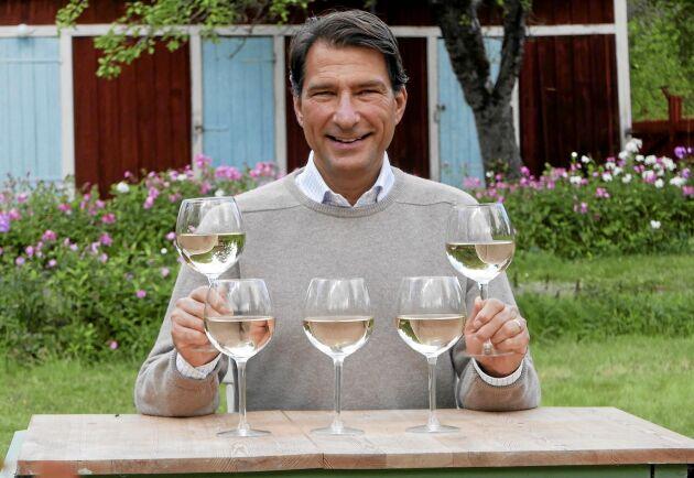 bildtext: Stefan Saidac ger tips på höstens viner från Vinbetygets topplistor.