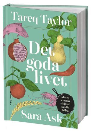 Det goda livet – en njutning för dig som älskar god, enkel mat som får dig att må bra. Så beskriver Tareq Taylor sin och Åsa Asks kokbok.