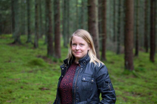 Anna Nilsson, chefredaktör för Land Lantbruk.