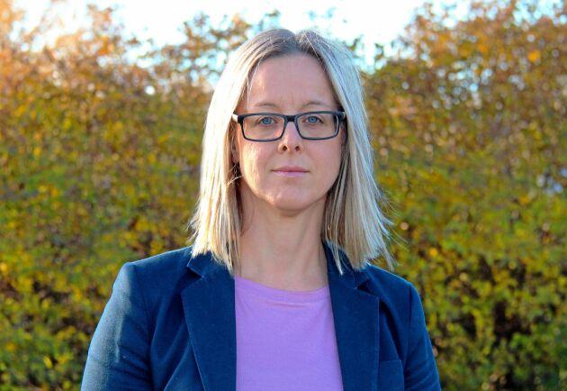 Marie Eriksson, projektledare Trafikverket.
