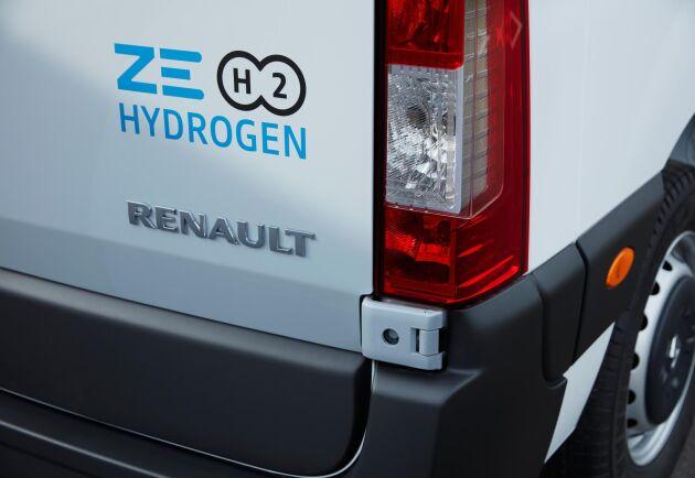 Nästa år lanseras Renault Master Z.E med vätgasdrift.
