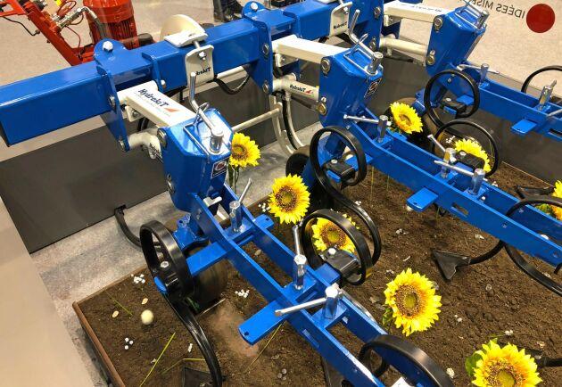 Med hjälp av Hydrokits nya lösning kan bearbetningen i varje rad styras med stor precision.