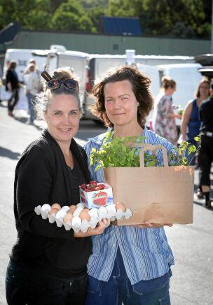 Annika Gustafsson och Victoria Svensson fick stipendiet 2018 för att de hade utvecklat Reko-ringen i Skövde till att bli Sveriges största.