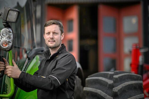 Simon Wancke, distriktsrepresentant på Gullviks.