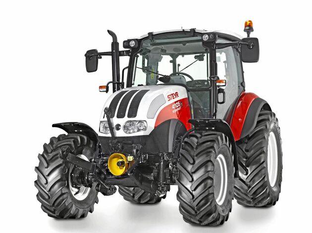 """Steyr Kompakt 4115 Hd är en av fyra finalister i klassen """"Best Utility"""" 2019."""