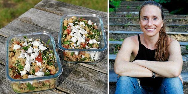 """Dietistens """"Portionen under tian"""" inspirerar till billig och klimatsmart vardagsmat"""