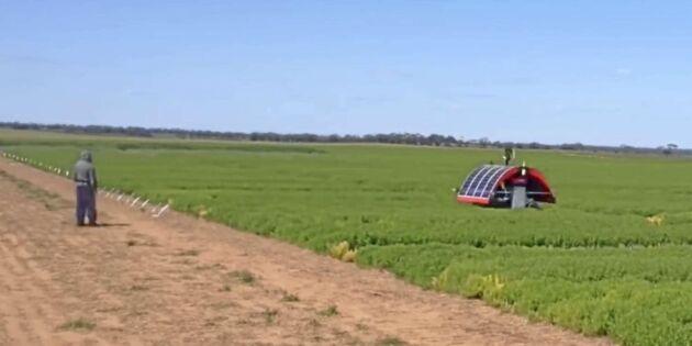 Robotar gör allt i framtidens lantbruk