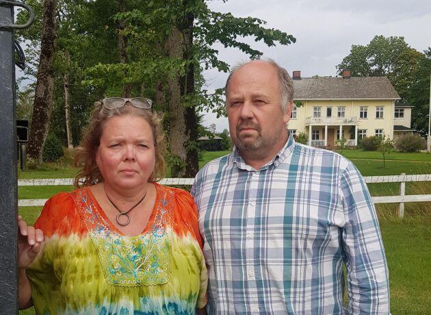Katarina och Hans-Erik Blidstam.