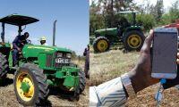 John Deere testar traktor-Uber i Afrika