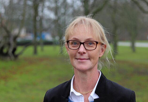Gunnel Hansson, växtodlingsrådgivare på HIR Skåne och ny odlingsutvecklare.