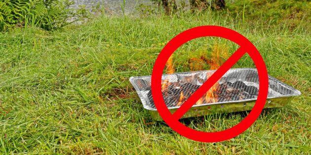 Kravet: Inför permanent förbud mot engångsgrillar