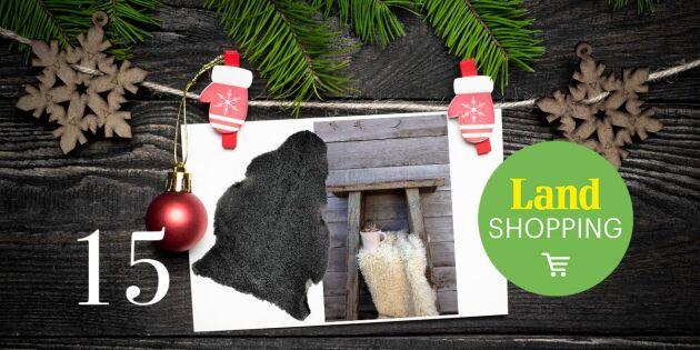 Unikt tillfälle! 25 procent rabatt på ekologiska fårskinn