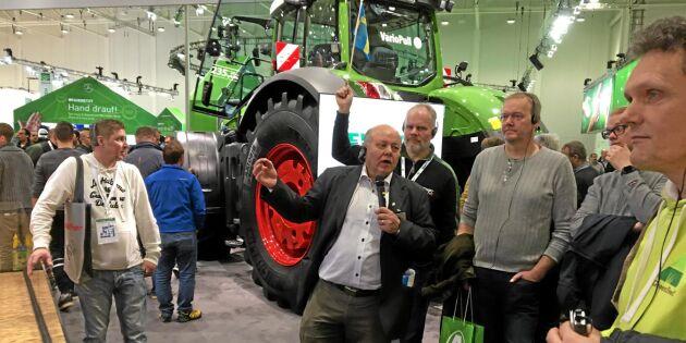 Stort svenskintresse på Agritechnica