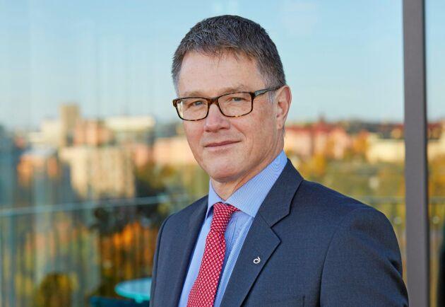 Per Olof Nyman, VD och koncernchef Lantmännen. Pressbild