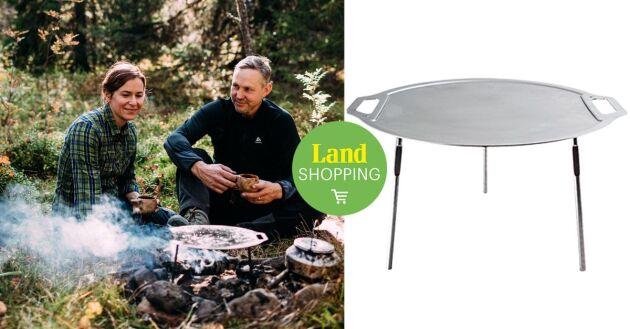 Stekhäll tillverkad i Sverige anv svenskt kvalitetsstål, lättviktsmodell, som kommer med en specialanpassad väska.