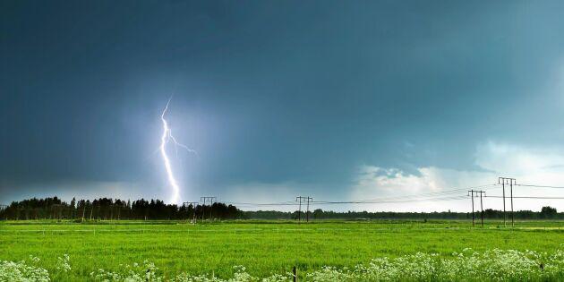 Kan det mullra utan att det kommer en blixt? Meteorologen svarar!