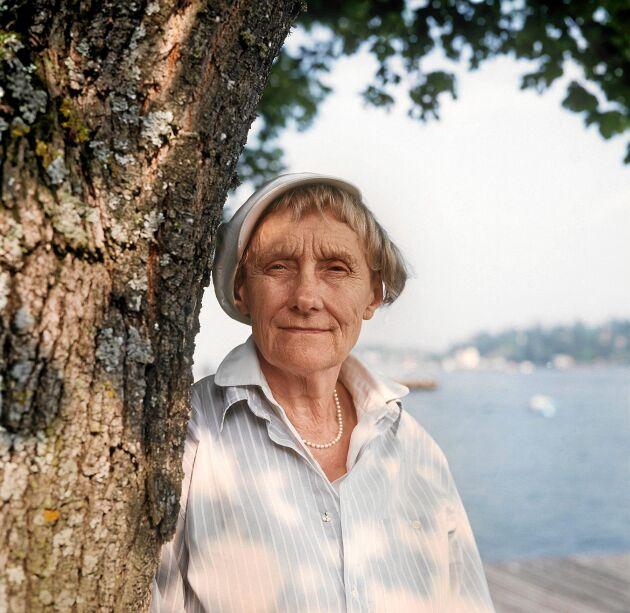 Astrid Lindgren blev förtjust i Sonja när hon dök upp på dottern Karins barnkalas. Sedan den dagen var Sonja Astrids Pippi.