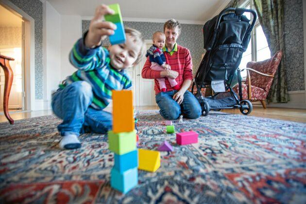 För Jesper Johansson var det aldrig någon tvekan om att han skulle vara föräldraledig med barnen.