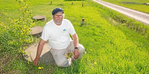 Kommunens VA-planer kostar honom en miljon
