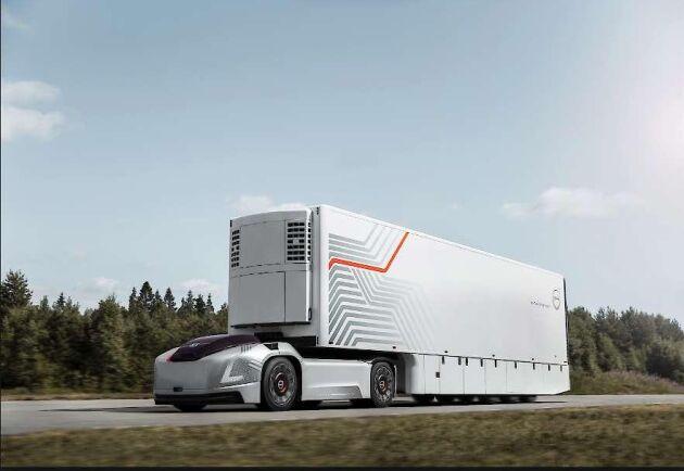 Volvo ska utveckla självkörande lastbilar tillsammans med amerikanska Nvidia.
