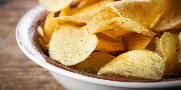 Därför blir du chipsberoende – och så bryter du ovanan