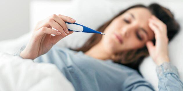 5 vanliga myter om feber – här är vad som gäller!