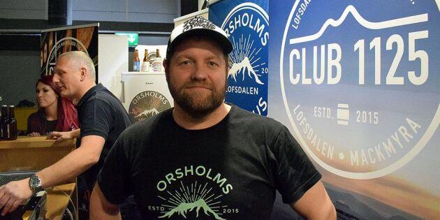 Orsholms brygghus – han byggde sitt eget bryggeri