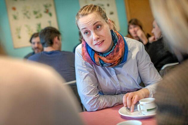 – Deltagarna får lära sig resonera kring strategi och ekonomisk planering och får hjälp att analysera sina egna företag, säger Hanna Cederlund.
