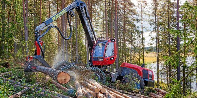 Bättre förarstöd krävs för att maxa skogsmaskiner