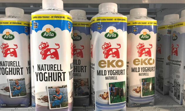 Med en avtagbar topp ska all yoghurt vara lätt att få ut ur förpackningen. Men förpackningen går inte hem hos kunderna.