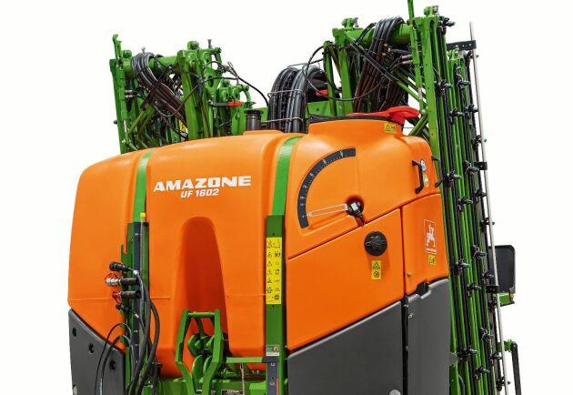 UF 1602, är en ny Isobus-kompatibel växtskyddsspruta från Amazone.