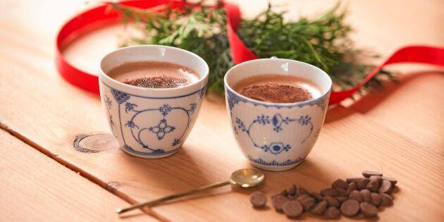 Varm choklad från Österlenchoklad